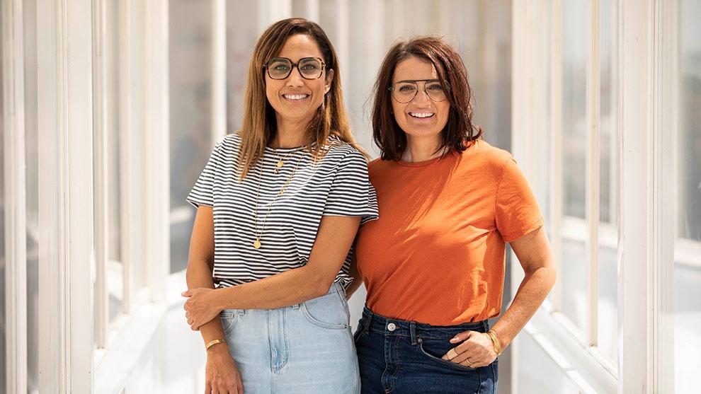 EL GRUPO: Sílvia Abril y Toni Acosta